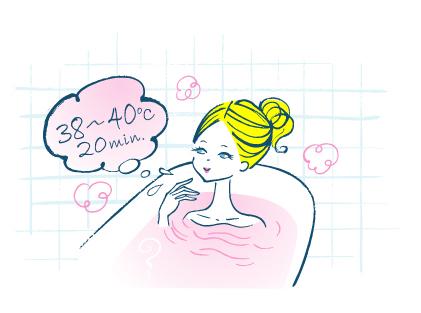 就寝60〜90分前に入浴