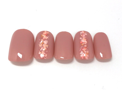 桜の季節を待ちわびるホログラムデザイン