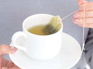 緑茶でマッサージ!?3分でむくみ解消