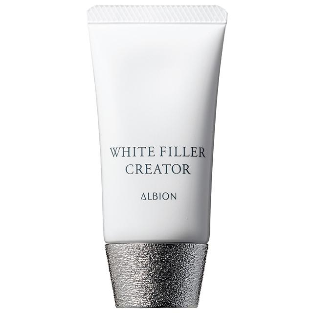 下地としてだけでなく、明るい肌に導く薬用美白美容液としての効果も! アルビオン ホワイトフィラー クリエイター[医薬部外品] SPF35・PA+++