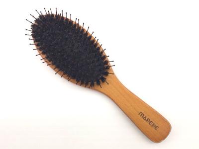 マペペ|つやつや天然毛のミックスブラシ