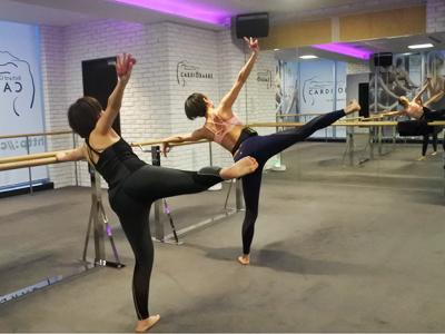 体型がみるみる変化するバレエの動きでボディメイク