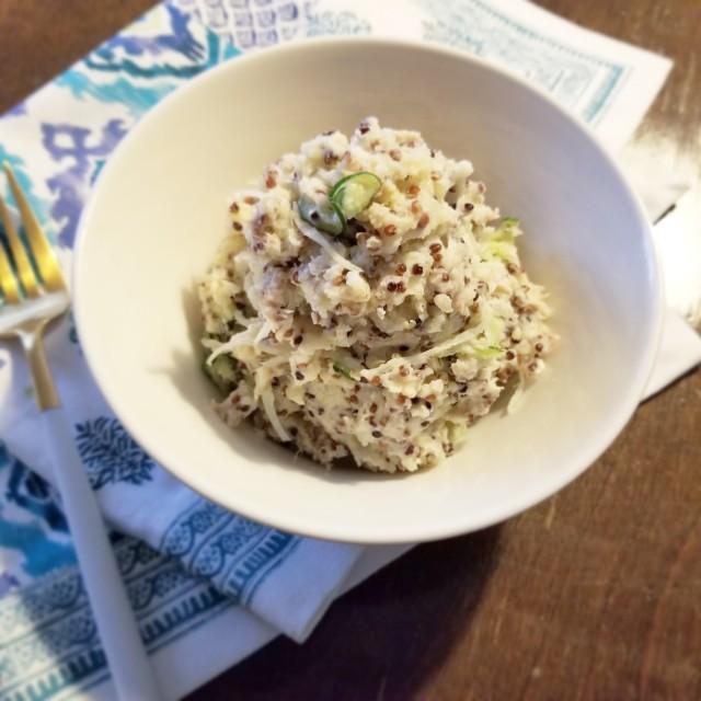 栄養の宝庫キヌア×ポテトサラダ