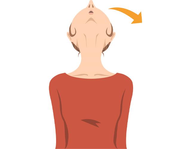 思い頭を支えるために肩・首が凝る