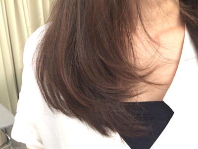 ふんわりヘアを作るコツ