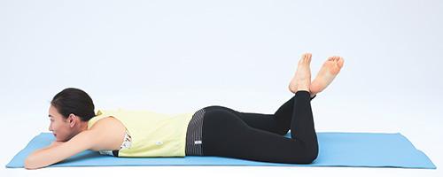 1分でできる体幹リセットで脚痩せ