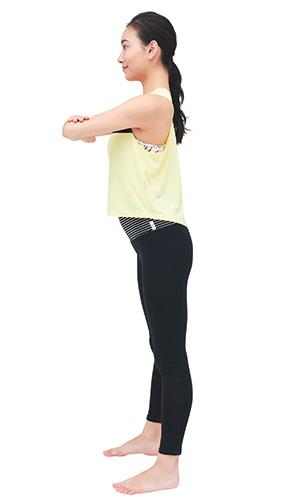 骨盤の傾きを正し体幹を鍛える