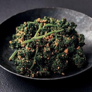 ビタミン含有量は野菜の中でもトップクラス!【パセリのナムル】