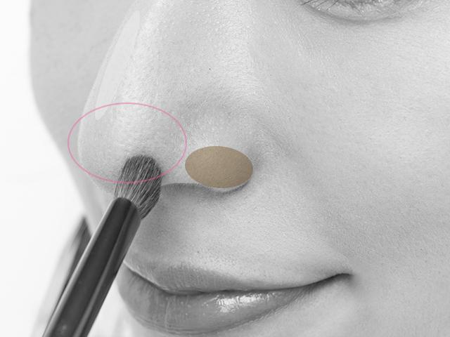 3大鼻コンプレックスを解決メイク
