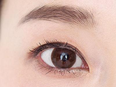 まばら、左右差のある眉の整え方