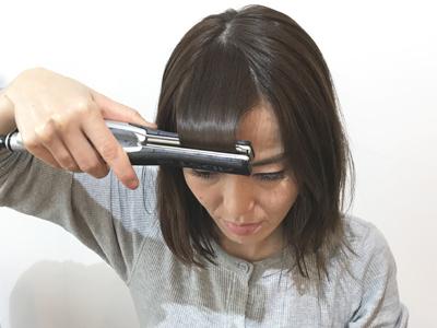 伸ばしかけ前髪を簡単おしゃれにアレンジ