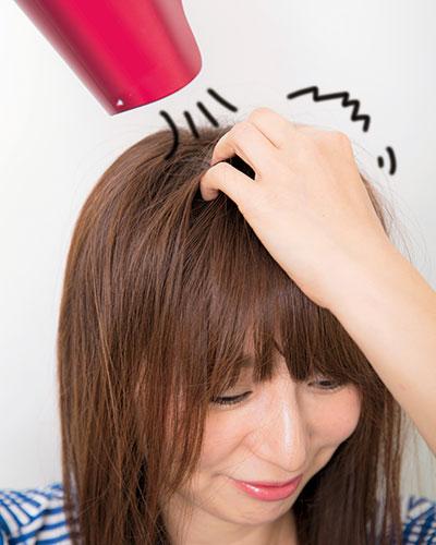 湿気に負けないふんわり前髪の作り方【ロングヘア】