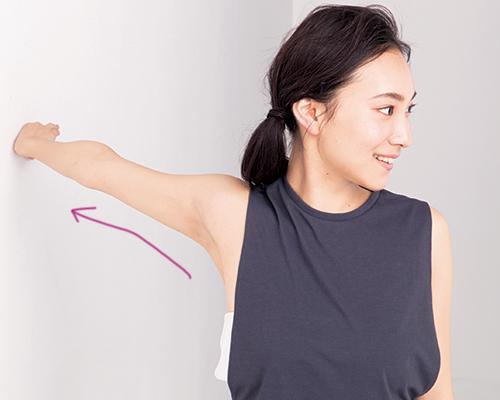 二の腕痩せにおすすめ簡単ストレッチ