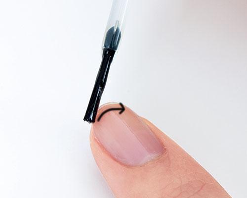 ムラにならないマニキュアのきれいな塗り方の基本