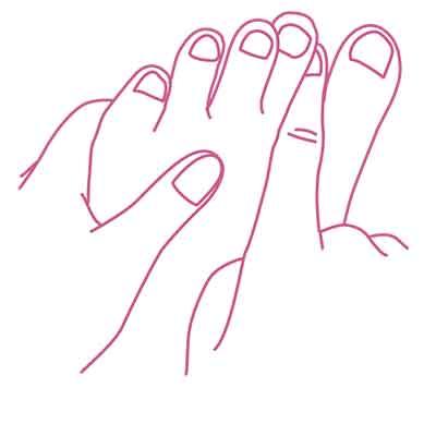 トラブル予防のための足のケア方法