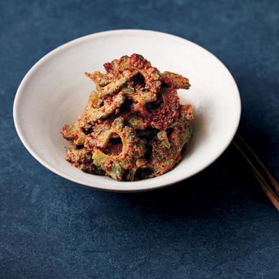 鉄分豊富なゴーヤのおつまみレシピ