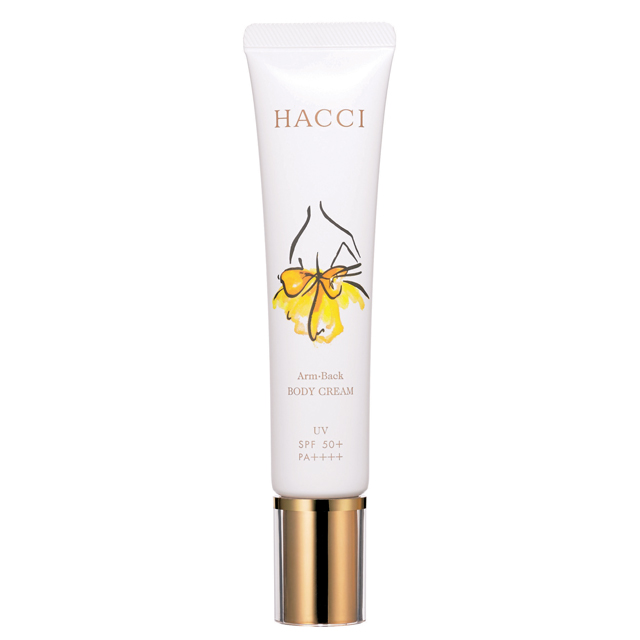 HACCI(ハッチ)| BODY CREAM Arm・Back UV