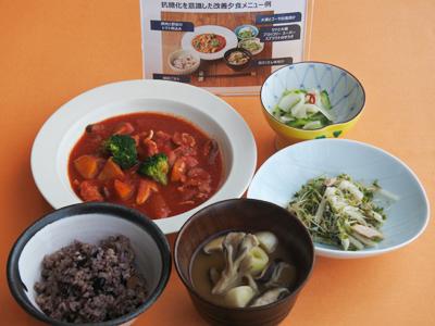 ツナと大根、ブロッコリースーパースプラウトのサラダ