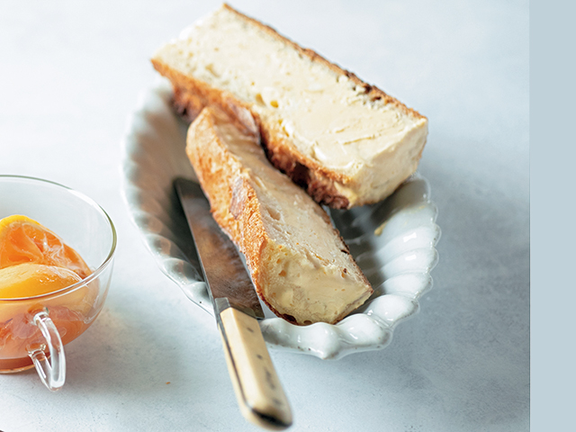 レモンとはちみつを漬けてつくるデザート系パンアイ