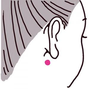 耳たぶマッサージ&ツボ押しで肩こりを解消!