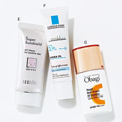 日焼けで肌が赤くなるのを防ぐ朝の予防術