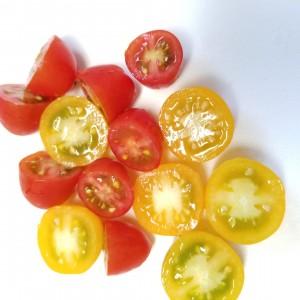 むくみも解消!桃とトマトのジンジャーサラダ