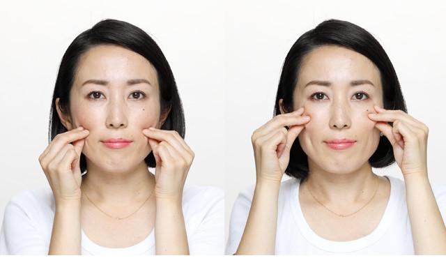 老け顔を徹底予防。ほうれい線撃退!若返り顔体操
