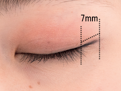 アイラインでまつげが長く見える!? 目尻7mmのアイラインテクニック
