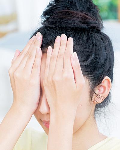 目の下のくまを払拭するケア