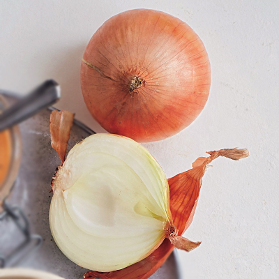 「梅風味の玉ねぎスープ雑炊」でインナーケア