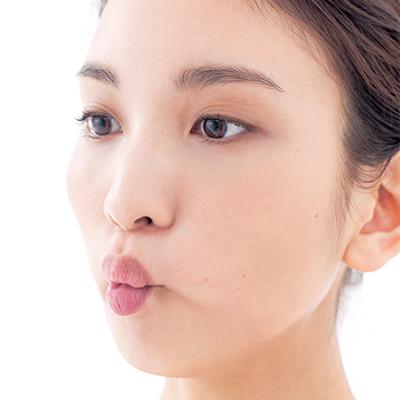 簡単!頬のリフトアップ顔体操
