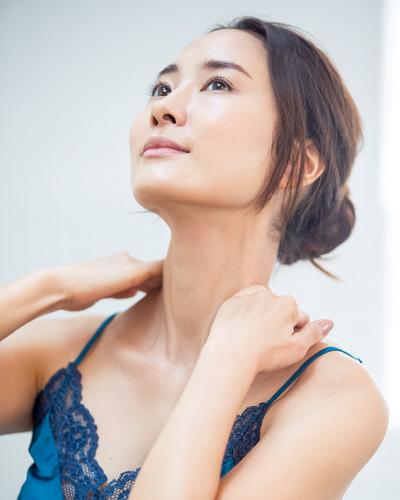 首の老化を防ぐリンパマッサージ