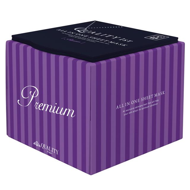 クオリティファースト|オールインワンシートマスクプレミアム EX BOXタイプ