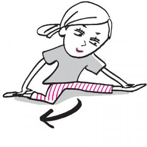 座り仕事が長い人におすすめ!下半身の巡りをよくする太もも&股関節ストレッチ