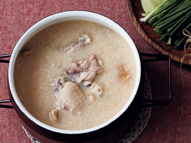 水炊き風鶏肉の甘酒煮