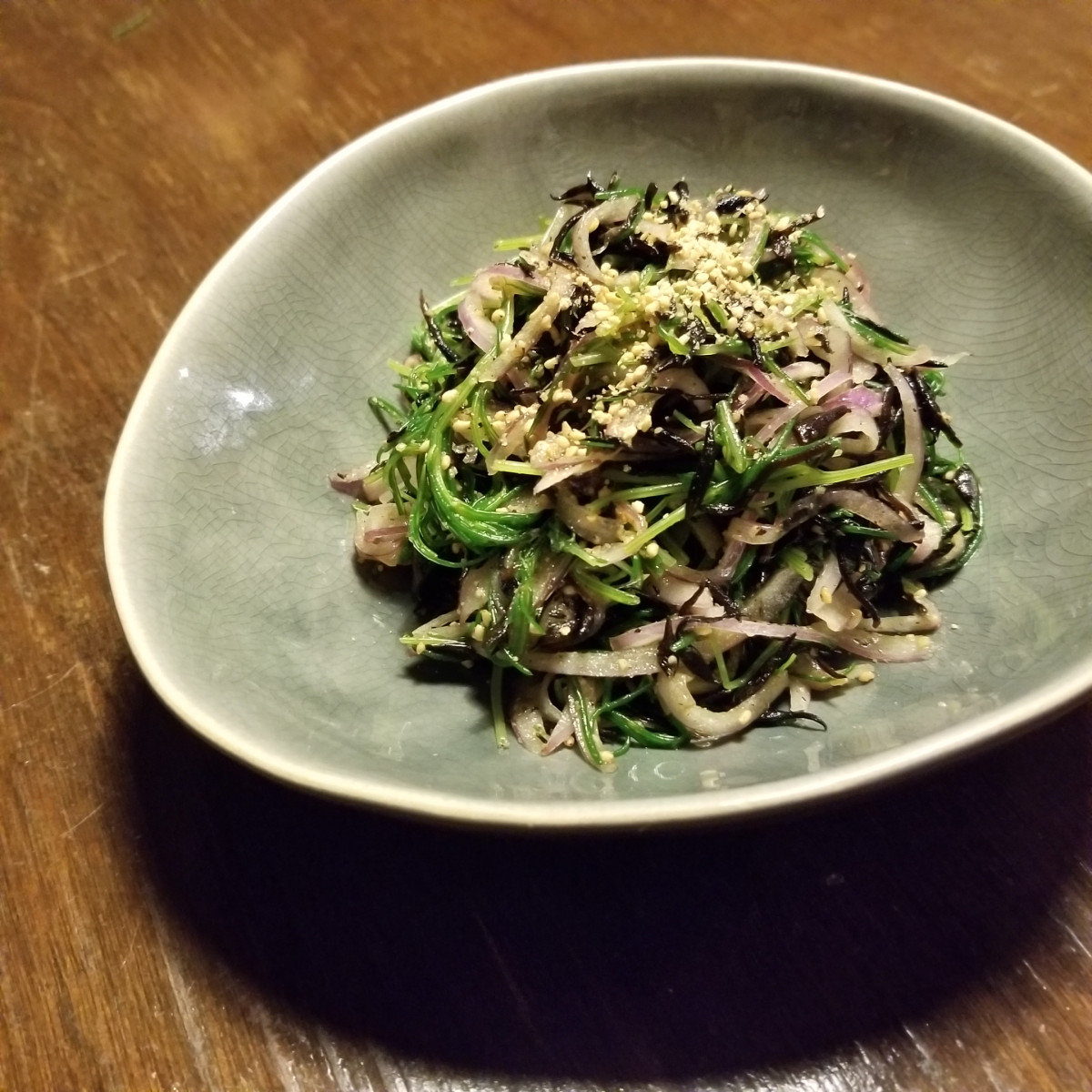 【ひじき】ひじきとおかひじきのサラダ
