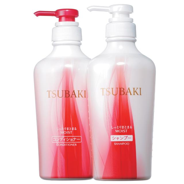 TSUBAKI しっとりまとまるヘアコンディショナー(左)