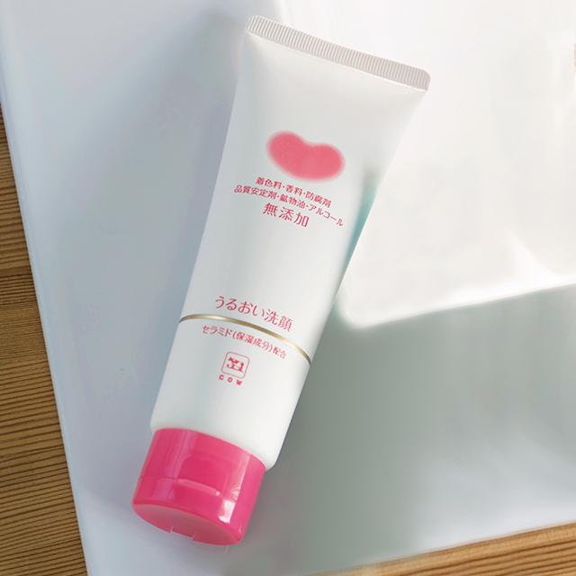 プチプラ洗顔料ランキング3位!カウブランド|カウブランド 無添加 うるおい洗顔