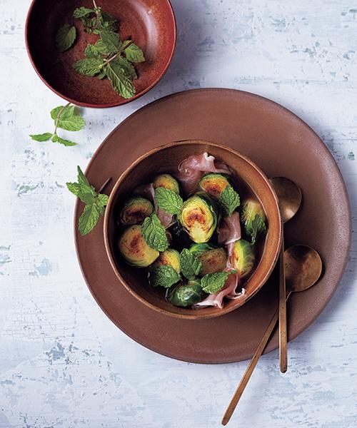 見た目もかわいい芽キャベツレシピ