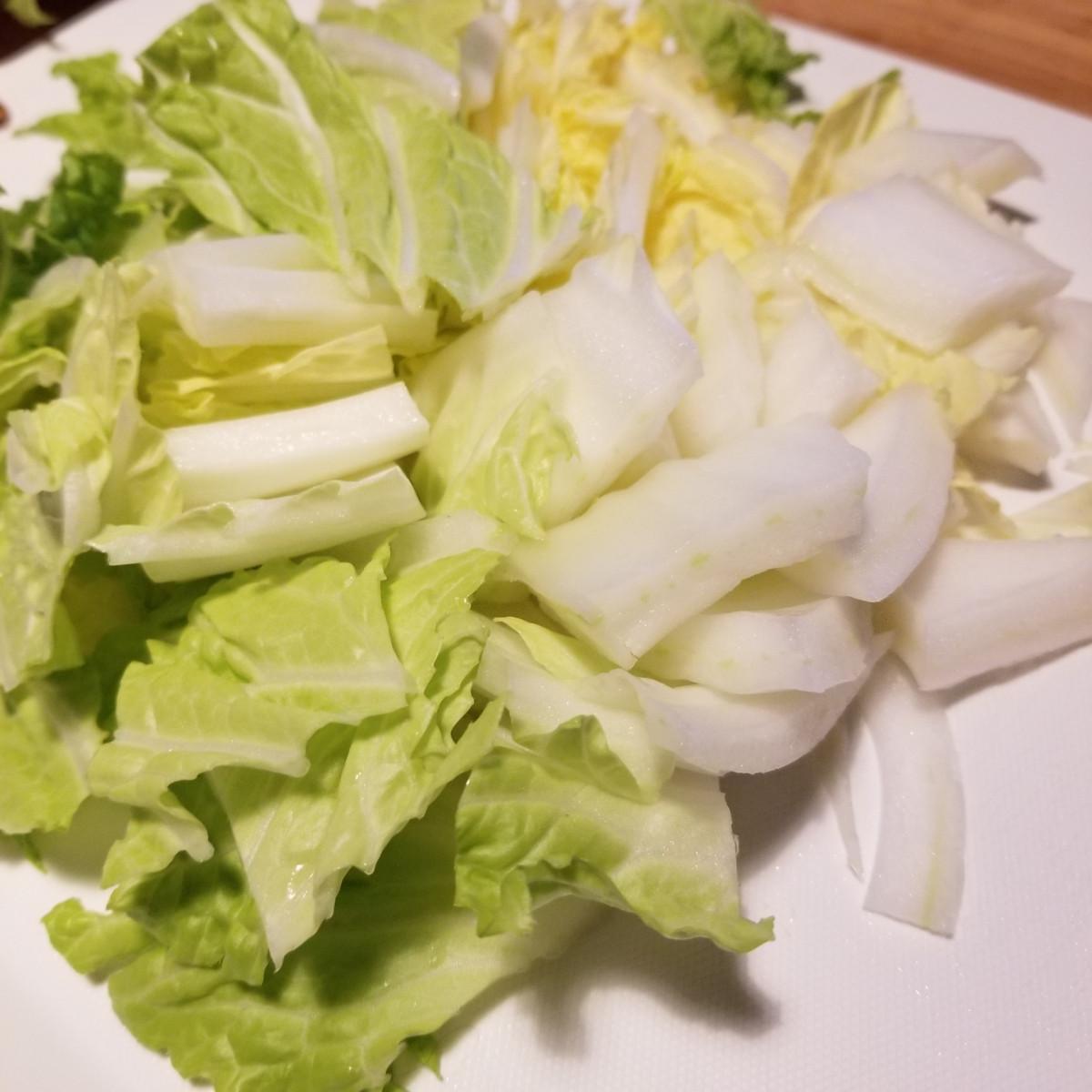 ホタテサラダで代謝を上げる