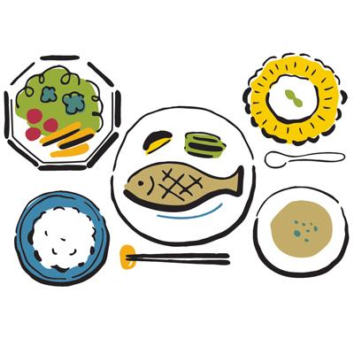 食事はバランス良くが鉄則。乳酸菌やポリフェノールは積極的に