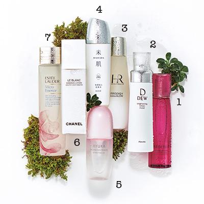 美白効果が期待できる潤い化粧水