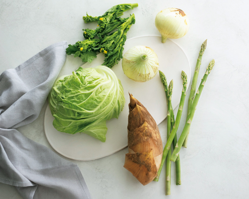 美肌効果満点!5つのデトックス春野菜