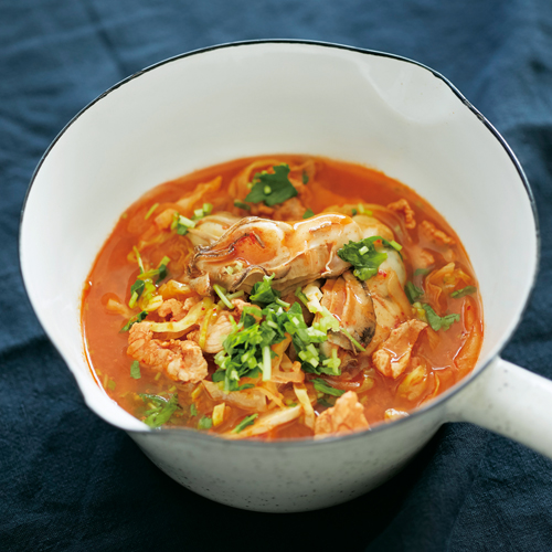 具だくさんスープで潤い補給!