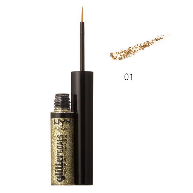 NYX Professional Makeup|グリッター ゴールズ リキッドアイライナー