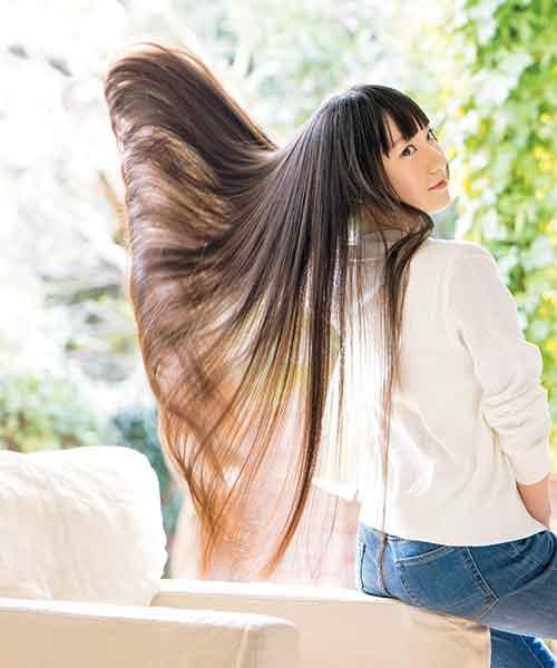 サラ艶髪シャンプーCMモデルの愛用シャンプー