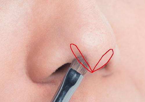 団子っ鼻さんの美人鼻メイクテク