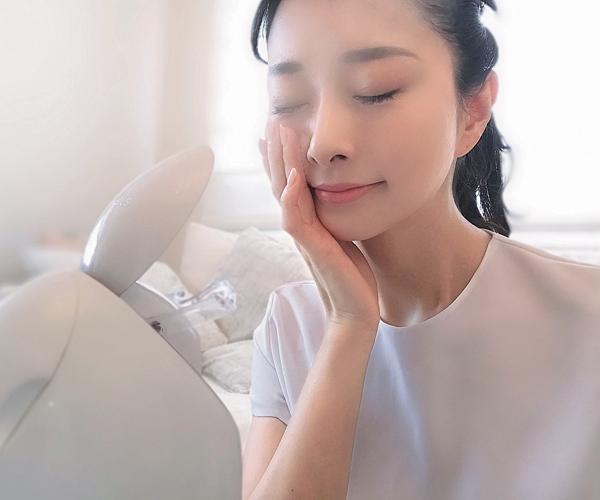 美容家・石井美保さんはスチーマーでじっくり浸透