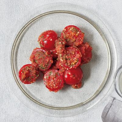 ミニトマトと明太子のナムル