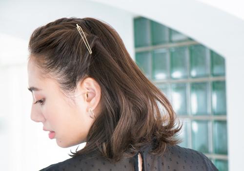 ペタっとなってしまう髪をボリュームアップ